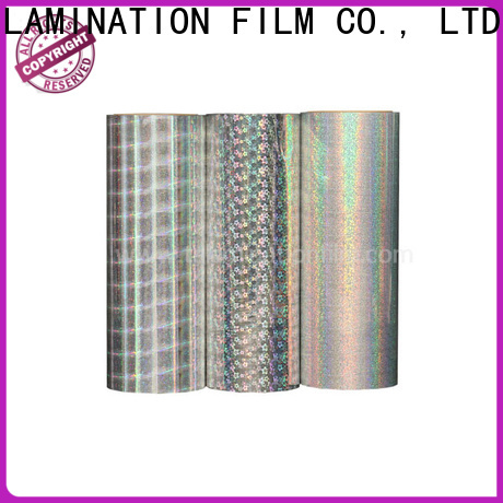 cost-effective holographic sheet supplier for advertisements