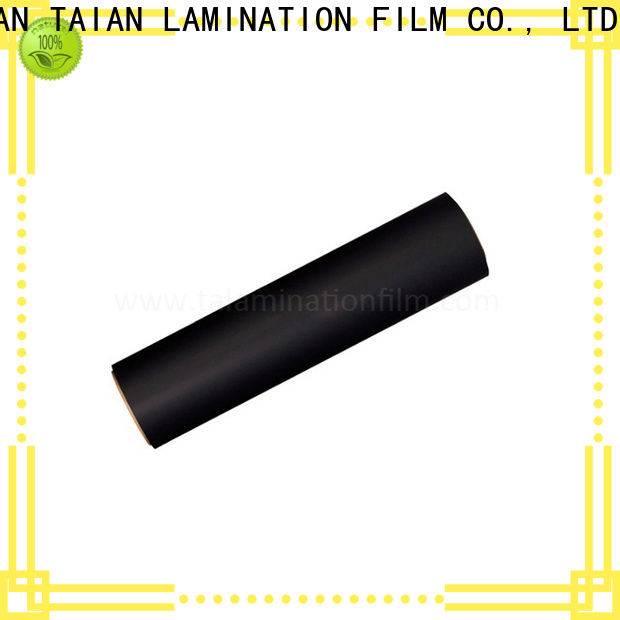 Taian Lamination Film long lasting soft touch coating manufacturer for magazines