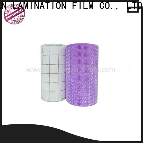 Taian Lamination Film glitter vinyl on sale for advertisements