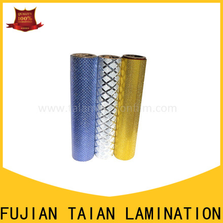 Taian Lamination Film efficient foil printing paper supplier for advertisements