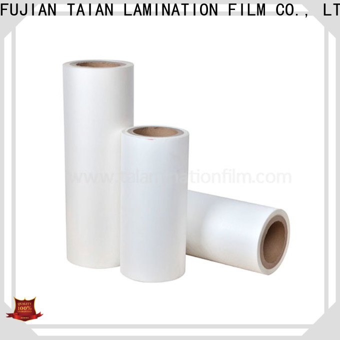 Taian Lamination Film professional bopp thermal lamination film on sale for cosmetics