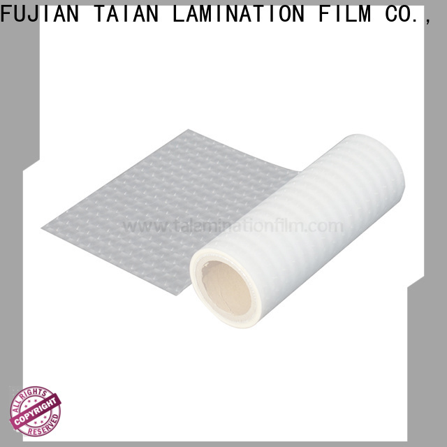 Taian Lamination Film colorful cold laminating film factory price for advertisements