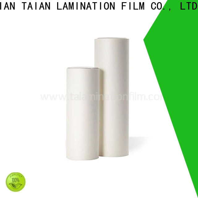 Taian Lamination Film efficient soft touch coating on sale for magazines
