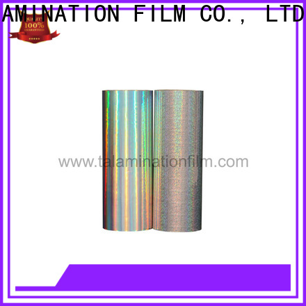 Taian Lamination Film metalized polyester factory for magazines