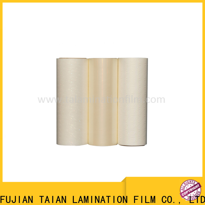Taian Lamination Film cost-effective holographic film personalized for cosmetics