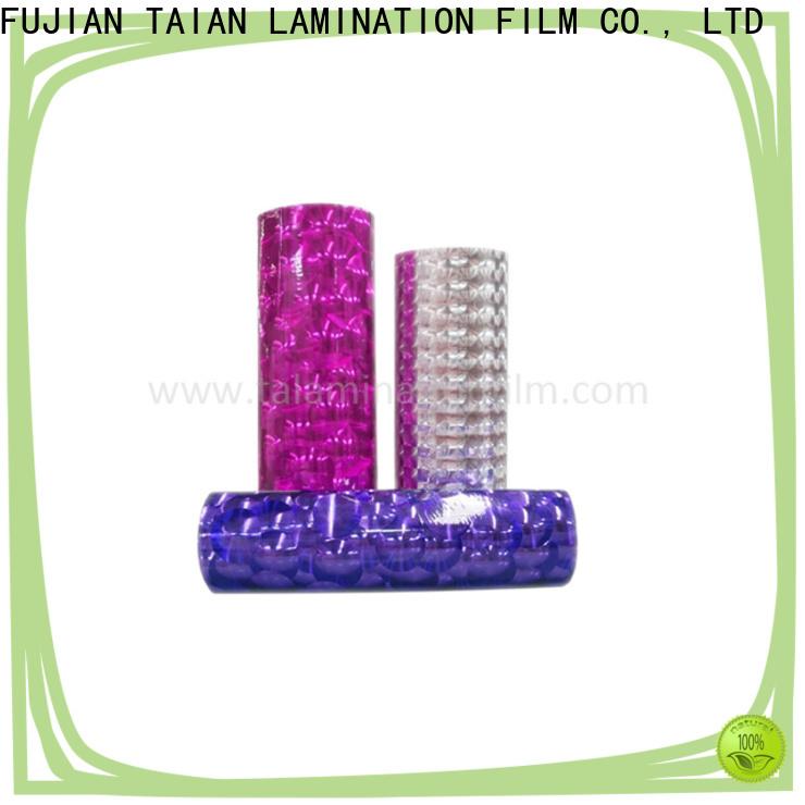 Taian Lamination Film laminating film factory price for digital printing