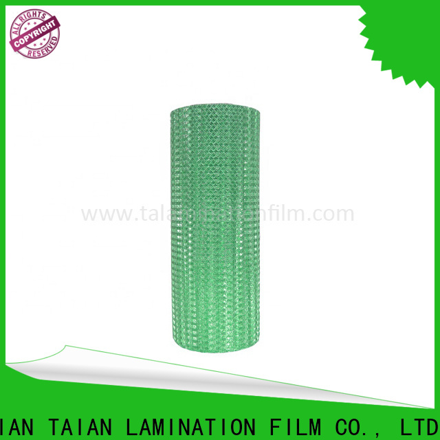 Taian Lamination Film foil printing paper on sale for boxes