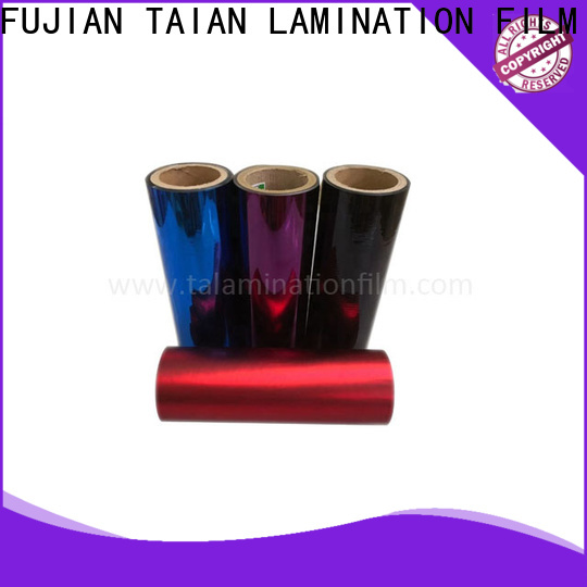 Taian Lamination Film hot selling metal film inquire now for calendars
