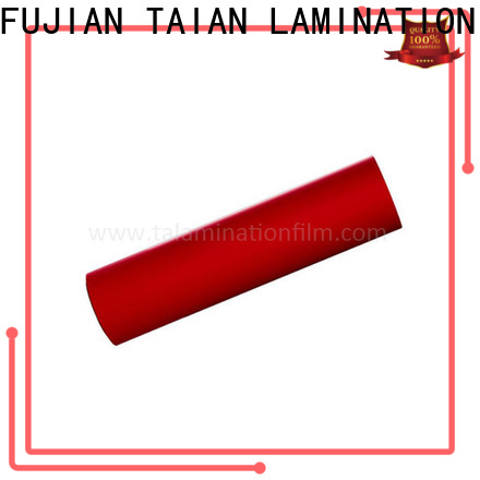 Taian Lamination Film efficient soft film factory price for calendars