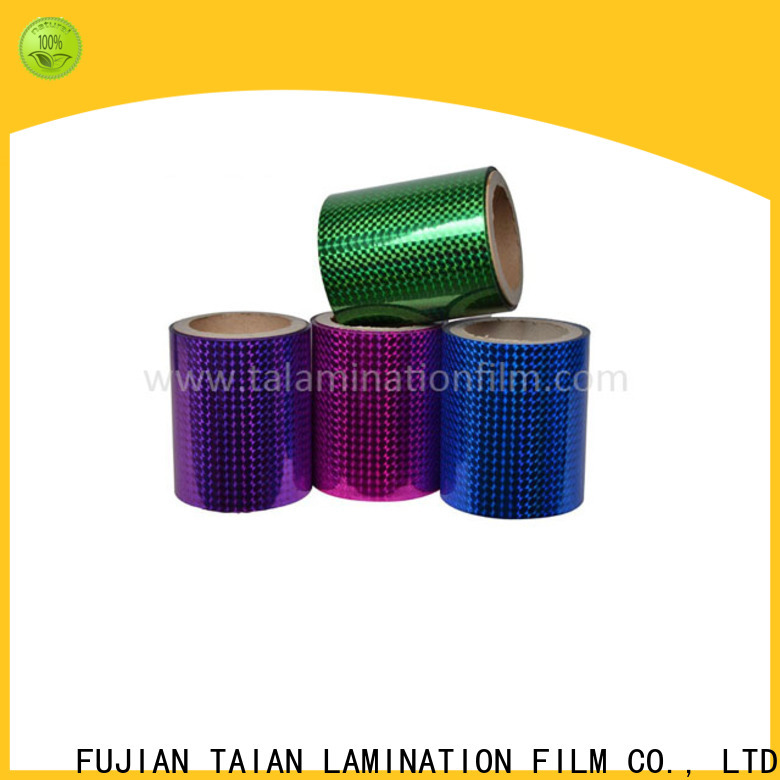 Taian Lamination Film laser film supplier for advertisements