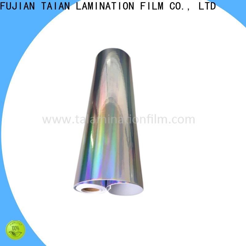 Taian Lamination Film top quality hologram film supplier for advertisements