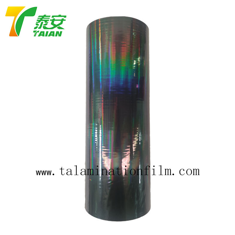 Gloss Metalized Holographic Thermal Lamination Flim