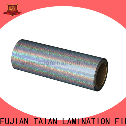 Taian Lamination Film hologram film personalized for medicine