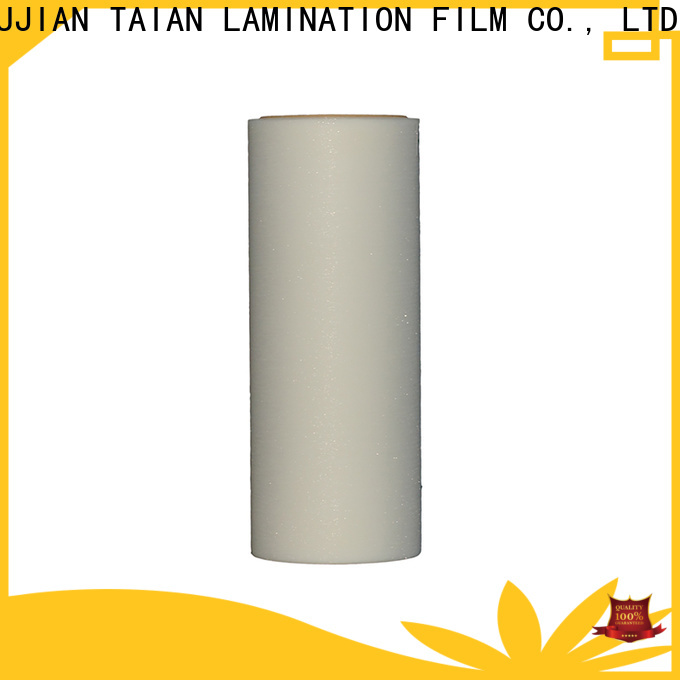 Taian Lamination Film creative glitter adhesive vinyl on sale for boxes