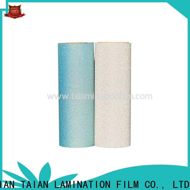 Taian Lamination Film popular foil printing paper supplier for boxes