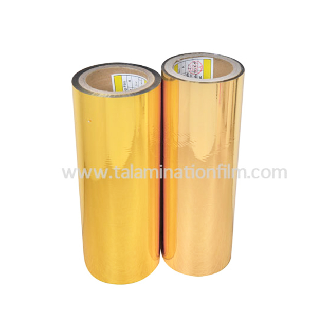 PET Color Metalized Thermal Lamination Film Metal Film