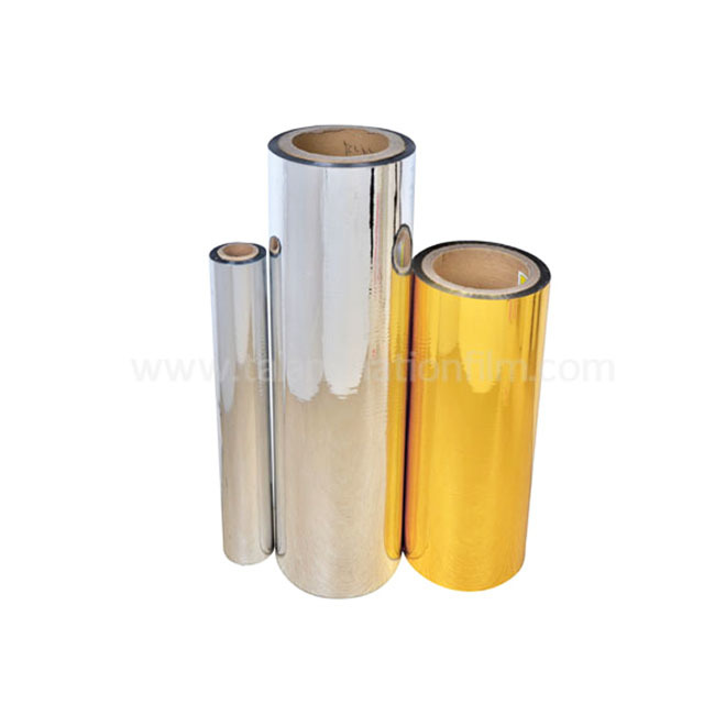 PET Sliver Metalized Thermal Lamination Film