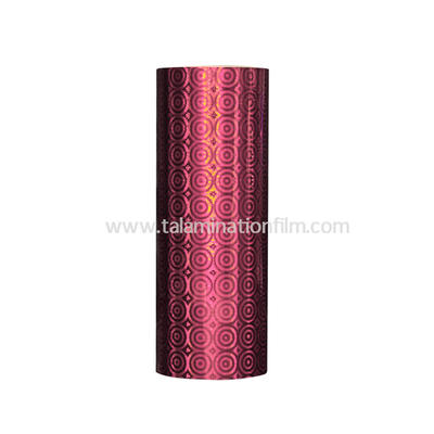 Color  Holographic Thermal Lamination Film