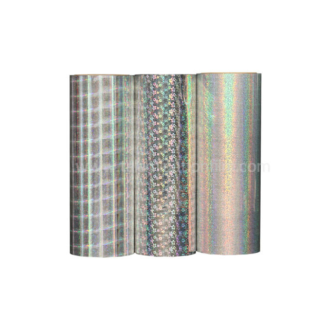 Sliver Holographic Thermal Lamination Film