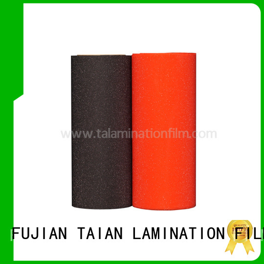 Taian Lamination Film popular glitter adhesive vinyl wholesale for showing board