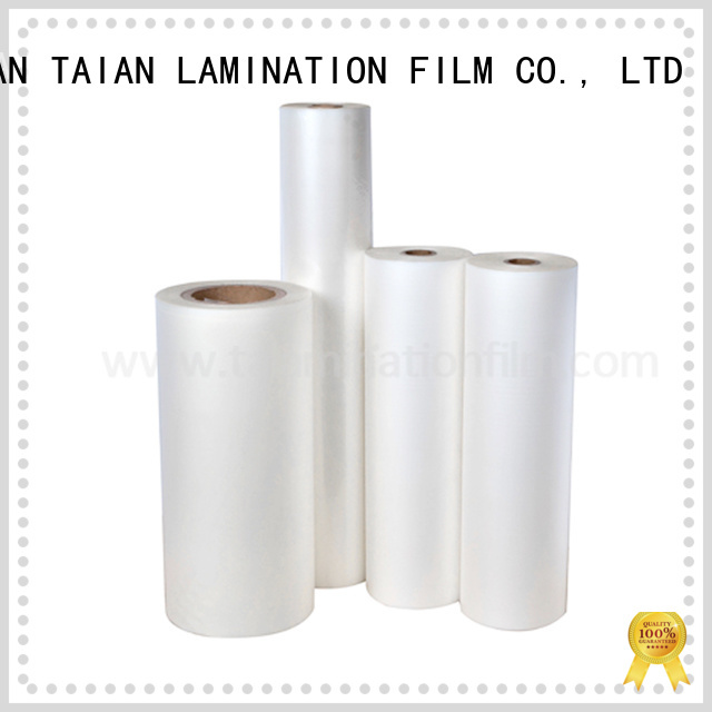 Taian Lamination Film lamination film roll wholesale for showing board