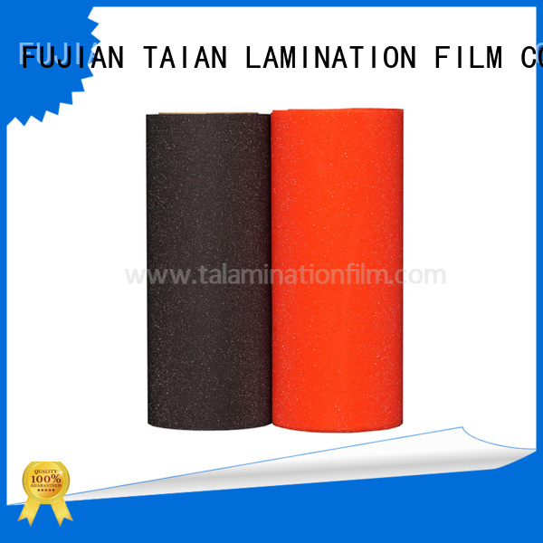 Taian Lamination Film popular glitter adhesive vinyl wholesale for boxes