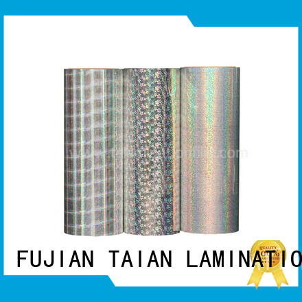 Taian Lamination Film colorful laser film wholesale for advertisements
