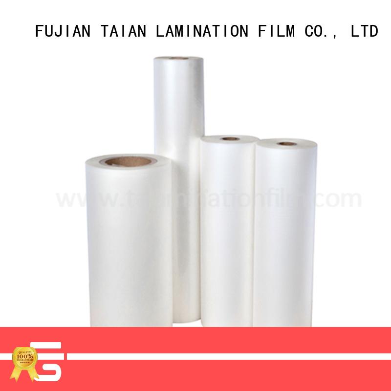 Taian Lamination Film durable pet film manufacturer for advertisements