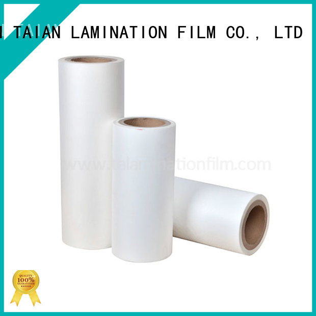 Taian Lamination Film bopp film factory price for digital printing