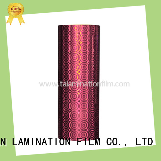 Taian Lamination Film holographic film factory price for digital printing