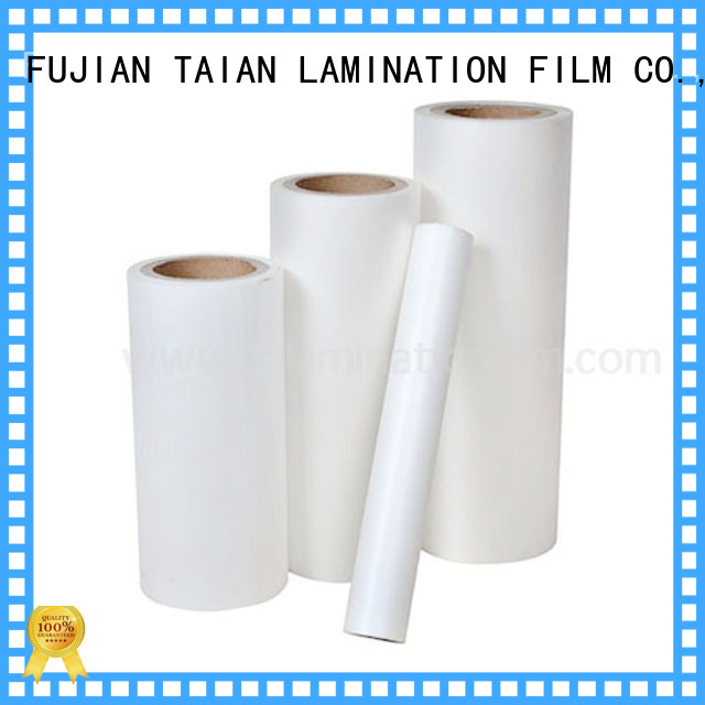 Taian Lamination Film bopp film prices supplier for cosmetics