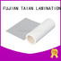 Taian Lamination Film colorful transfer foil factory price for digital printing
