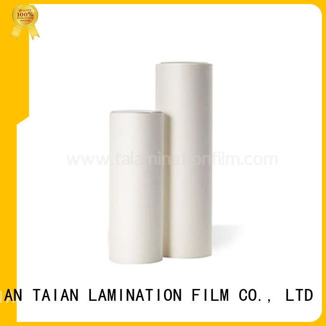 Taian Lamination Film soft touch laminate factory price for calendars