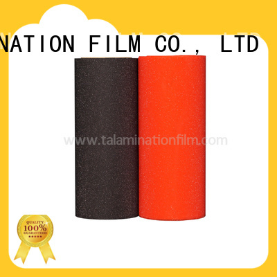 Taian Lamination Film efficient glitter heat transfer vinyl supplier for advertisements