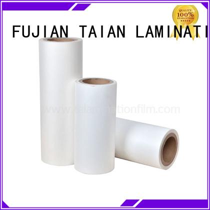 Taian Lamination Film film bopp factory price for digital printing