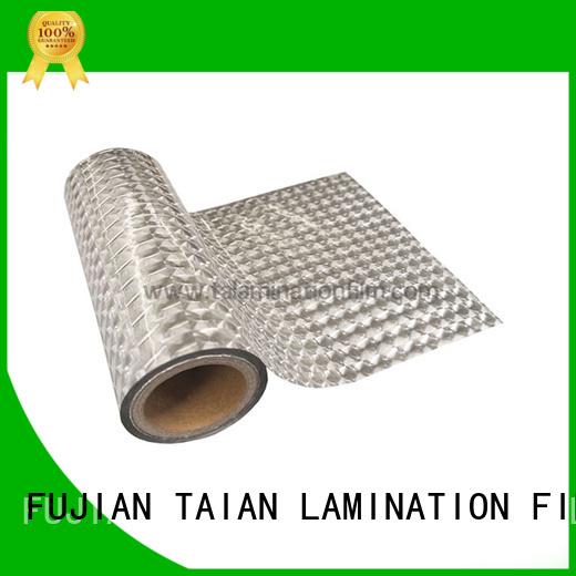 Taian Lamination Film decorative films personalized for medicine