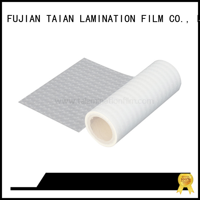 Taian Lamination Film polyester film factory price for cosmetics