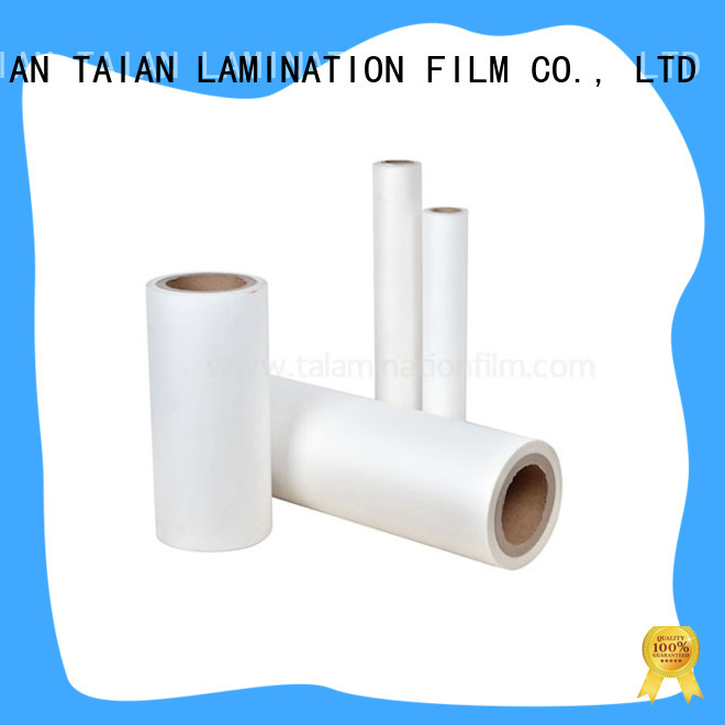 Taian Lamination Film laminating film roll on sale for digital printing