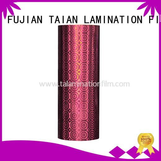 Taian Lamination Film convenient laser film wholesale for medicine