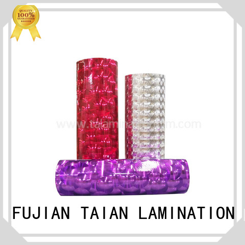 colorful transfer foil supplier for advertisements