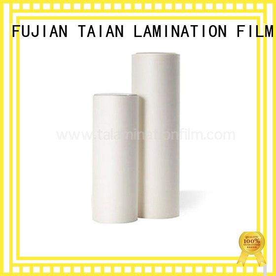 Taian Lamination Film soft touch paper factory price for magazines