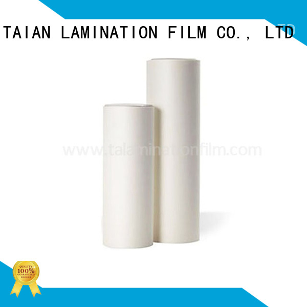 Taian Lamination Film soft touch paper factory price for maps