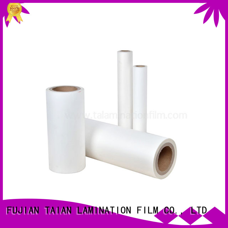 Taian Lamination Film transparent laminating film roll supplier for cosmetics