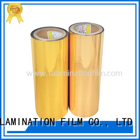 Taian Lamination Film metal film factory for books