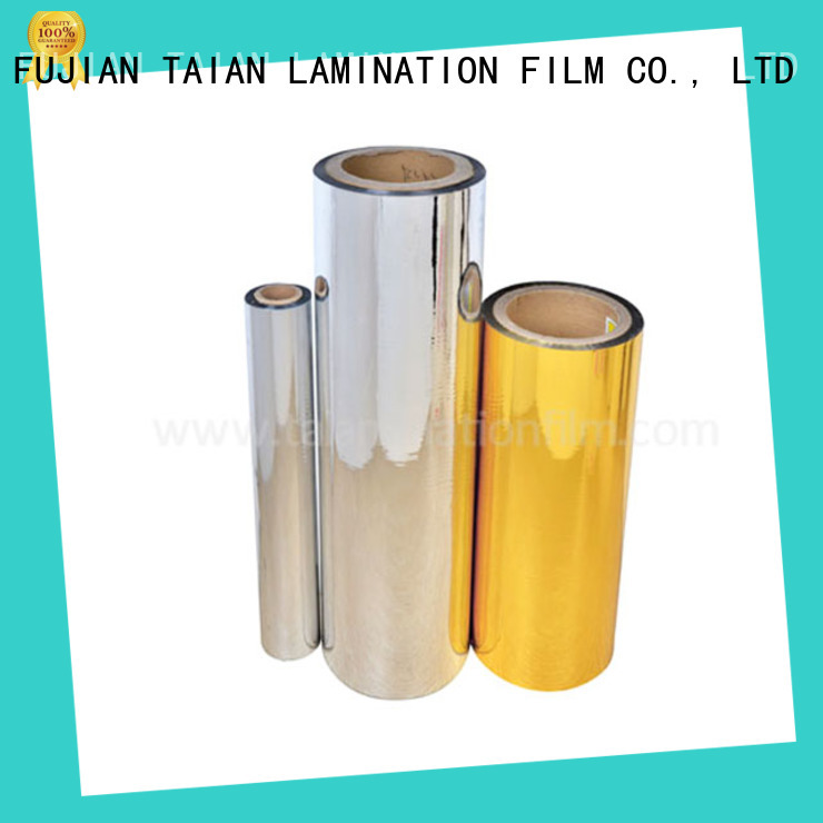 Taian Lamination Film metallized film inquire now for maps