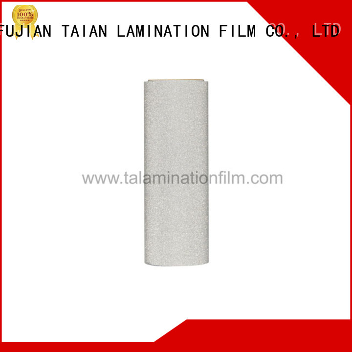 Taian Lamination Film glitter adhesive vinyl supplier for medicine