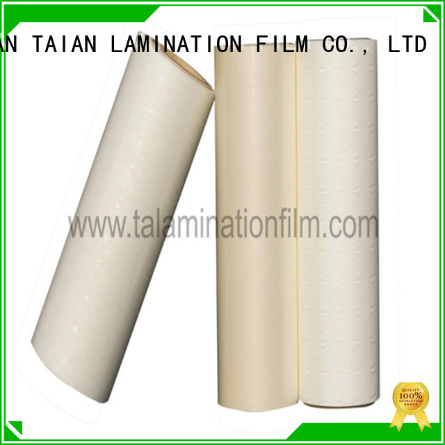 Taian Lamination Film holographic window film wholesale for digital printing