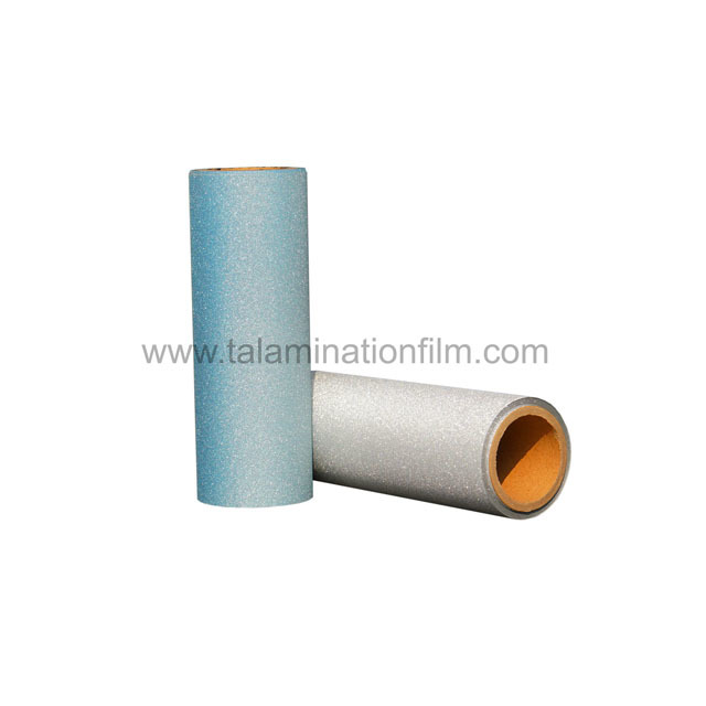 Professional 110Micron Glitter Thermal Lamitation Film Supplier-Taian Lamination Film