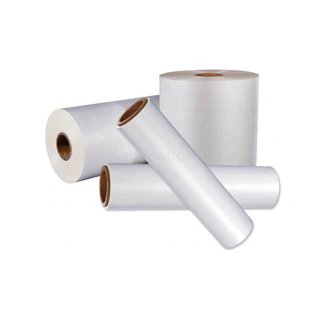 Bopp Pearl White Glossy And Protective Wrapping Thermal Laminating Film