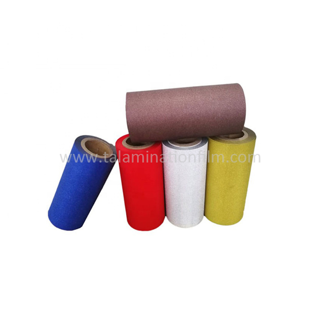 Shiny Reflective Sheeting PP Glitter Film